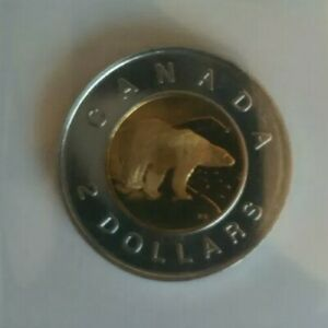 1997 CANADA TWO DOLLAR COIN   FROM RCM PROOF LIKE SET   $2.00 UNC POLAR BEAR