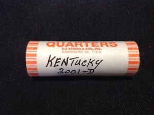 2001 KENTUCKY STATE QUARTERS