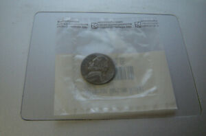 VINTAGE WWII 1945 S US JEFFERSON SILVER WAR NICKEL VINTAGE COLLECTION COIN