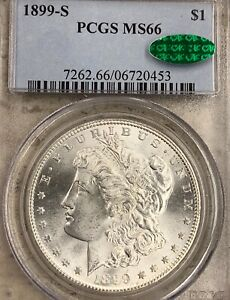 Click now to see the BUY IT NOW Price! 1899 S MORGAN SILVER DOLLAR PCGS MS66 CAC