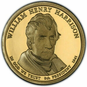 2009 D PRESIDENTIAL DOLLAR BRILLIANT UNCIRCULATED COIN US WILLIAM HENRY HARRISON