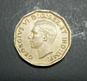 CANADA 1943 TOMBAC 5 CENTS COIN