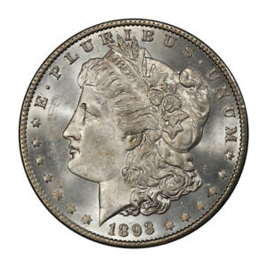 Click now to see the BUY IT NOW Price! 1893 O $1 MORGAN DOLLAR PCGS MS64  CAC  3134 12 PQ