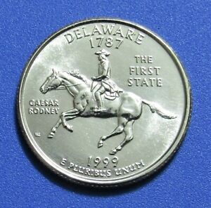 1999 P 25C DELAWARE STATE QUARTER   UNCIRCULATED
