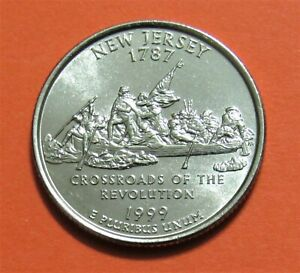 1999 P 25C NEW JERSEY STATE QUARTER   UNCIRCULATED