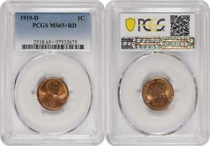 Click now to see the BUY IT NOW Price! FROSTY RED 1919 D LINCOLN CENT PCGS MS65 RD ITEM USC008