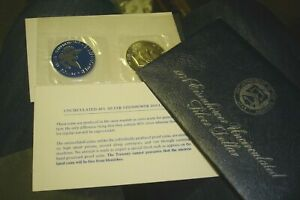 1974 S UNCIRCULATED 40  SILVER EISENHOWER IKE DOLLAR COIN