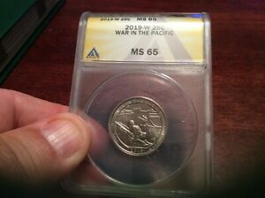 2019 W GUAM WAR IN THE PACIFIC NP QUARTER MS 65 ANACS