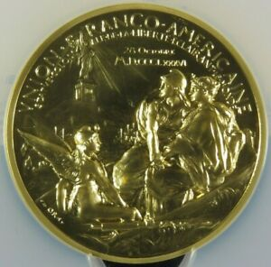 Click now to see the BUY IT NOW Price! 2016 FRANCE 5 OZ GOLD STATUE OF LIBERTY MEDAL NGC MS70