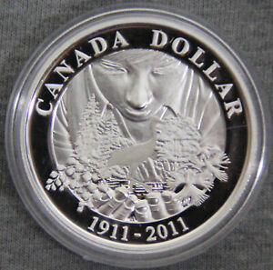 CANADA $ 2011 100TH ANNIVERSARY OF PARKS CANADA  185124