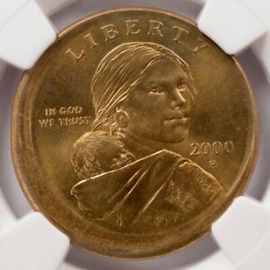 Click now to see the BUY IT NOW Price! NGC $1 2000 P SACAGAWEA DOLLAR BROADSTRUCK MS66
