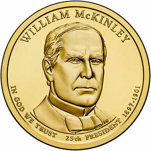 2013 D WILLIAM MCKINLEY PRESIDENTIAL DOLLAR BRILLIANT UNCIRCULATED COIN US
