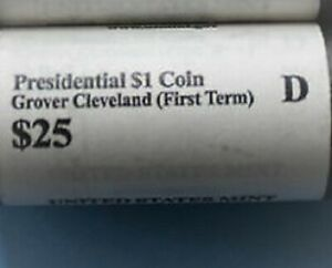 2012 D GROVER CLEVELAND   PRESIDENTIAL DOLLAR   FIRST TERM   ROLL