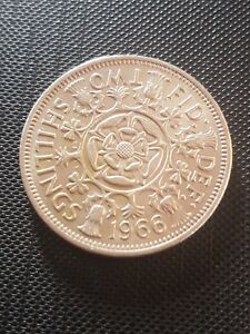 1966 FLORIN  TWO SHILLINGS
