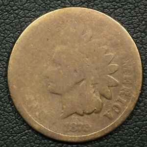 1872 INDIAN HEAD CENT COPPER PENNY   CLEANED