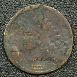 1872 INDIAN HEAD CENT COPPER PENNY   DAMAGED CORRODED & CORRODED