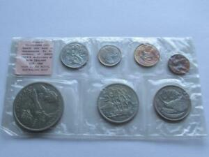 SEALED 1969 UNCIRCULATED 7 COIN SET ISSUED BY NEW ZEALAND TREASURY