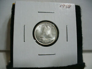 Click now to see the BUY IT NOW Price! 1958 CANADA SILVER DIME  CANADIAN   10  CENT COIN  58  HIGH  GRADE  SEE PHOTOS