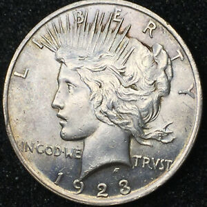 1923 PEACE SILVER DOLLAR IN MS CONDITION NICE CARTWHEEL LUSTER