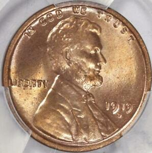 Click now to see the BUY IT NOW Price! GEM BRILLIANT 1919 D LINCOLN CENT PCGS MS65RD FROSTY WHEAT RED  CJS130