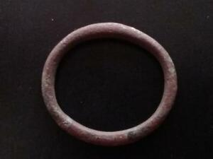 22MM AUTHENTIC ANCIENT CELTIC BRONZE RING MONEY  600 BC 15