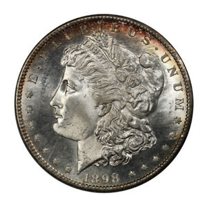 Click now to see the BUY IT NOW Price! 1898 S $1 MORGAN DOLLAR PCGS MS66  CAC  3114 6