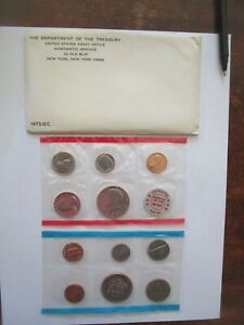 US MINT SET   1972