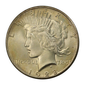 Click now to see the BUY IT NOW Price! 1928 $1 PEACE DOLLAR PCGS MS66 3119 18
