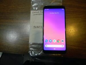 GOOGLE PIXEL 3   64GB   JUST BLACK  UNLOCKED  CLEAN ESN