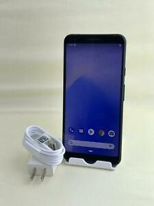 GOOGLE PIXEL 3A XL G020A 64GB JUST BLACK  9 OF 10  CAN WORK ON VERIZON