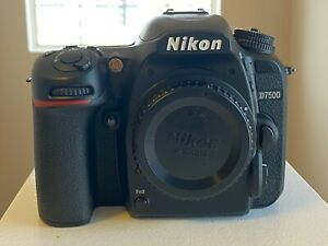 NIKON D7500 DSLR DIGITAL CAMERA BODY   NEAR MINT