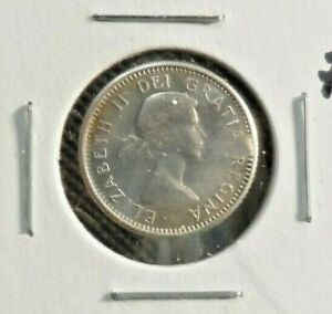 CIRCULATED 1963 10 CENT CANADIAN COIN  30519 2 ..FREE DOMESTIC SHIPPING