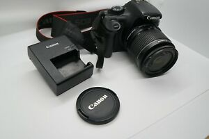 CANON EOS REBEL T3 DIGITAL SLR CAMERA WITH EF S 18 55MM F/3.5 5.6 IS LENS