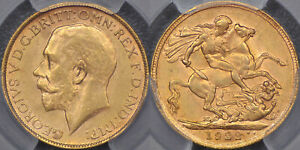 Click now to see the BUY IT NOW Price! AUSTRALIA 1922 MELBOURNE SOVEREIGN   PCGS MS62