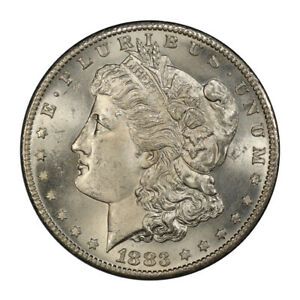 Click now to see the BUY IT NOW Price! 1883 S $1 MORGAN DOLLAR PCGS MS64   CAC  3144 1 PQ