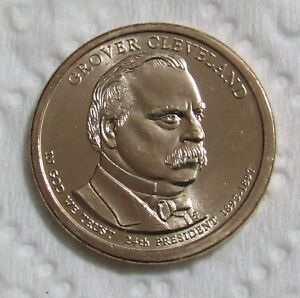 2012 P $1 GROVER CLEVELAND PRESIDENTIAL DOLLAR   POSITION A   VARIETY 2