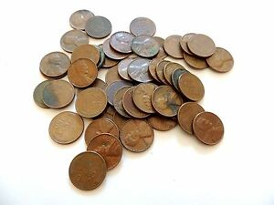 FULL ROLL OF 1957 LINCOLN WHEAT CENTS