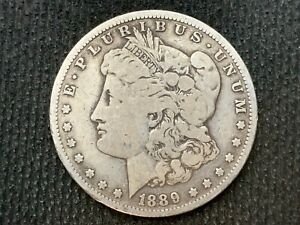 1889 O  MORGAN DOLLAR   VF         3 OR MORE   FREE S/H      90  SILVER    C1132