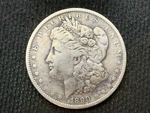 1890 O  MORGAN DOLLAR    XF       3 OR MORE   FREE S/H       90  SILVER    C1130