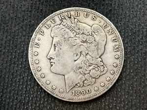 1890 O  MORGAN DOLLAR   VF         3 OR MORE   FREE S/H      90  SILVER    C1128