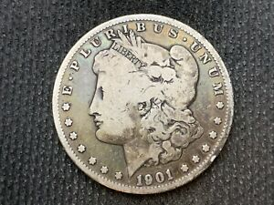 1901 O  MORGAN DOLLAR   F         3 OR MORE   FREE S/H      90  SILVER    C1125