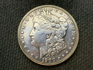 1900 O  MORGAN DOLLAR   VF XF      3 OR MORE   FREE S/H      90  SILVER    C1120