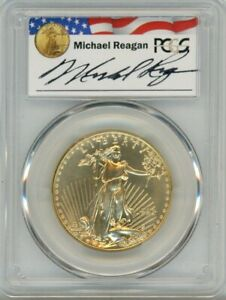 Click now to see the BUY IT NOW Price! 1993 $50 GOLD EAGLE PCGS MS 70 REAGAN LEGACY SERIES POP 19 PRICE GUIDE $8173 2