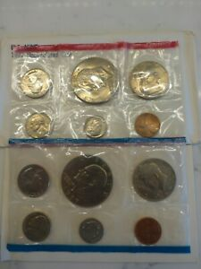 1977 P&D UNITED STATES MINT SET IN OGP  12 COINS  WITH ENVELOPE