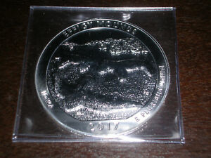 2017 EFFIGY MOUNDS 5OZ SILVER AMERICA THE BEAUTIFUL COIN