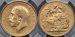 Click now to see the BUY IT NOW Price! AUSTRALIA  1923 SYDNEY SOVEREIGN   PCGS MS63