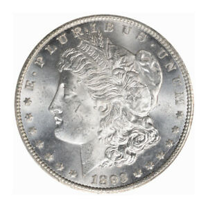 Click now to see the BUY IT NOW Price! 1893 CC $1 MORGAN DOLLAR PCGS MS64   CAC  3135 2 BLAST WHITE  CONDITION RARITY