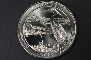 2015 D BOMBAY HOOK DELAWARE NATIONAL PARK QUARTER UNCIRCULATED  FROM BANK ROLLS