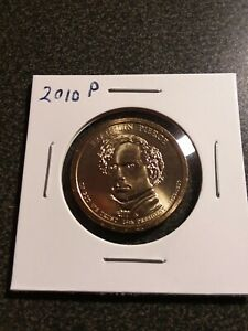 2010 FRANKLIN PEIRCE DOLLAR COIN BU