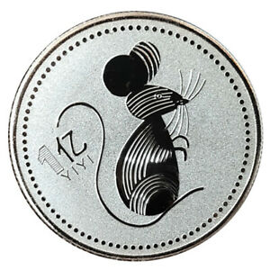 2020 RAT YEAR ONE HUNDRED MILLION CHINESE COMMEMORATIVE COIN CHALLENGE COINS_KZ